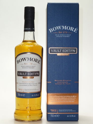 Bowmore Vault Edit1°n -First Release-