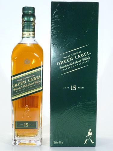 Johnnie Walker Green Label 15 y.o.
