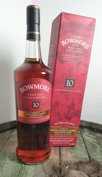 "Bowmore 10 y.o. ""Inspired by Devil's Cask"" 1 Liter"