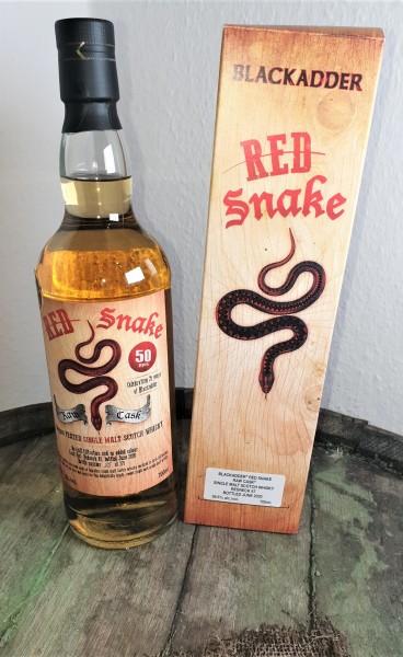 Red Snake Redneck 87 Peated 50ppm Blackadder Raw Cask