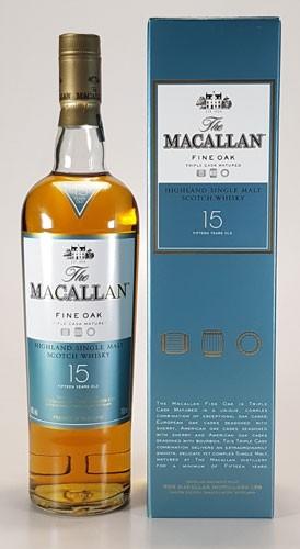 Macallan 15 y.o. Fine Oak