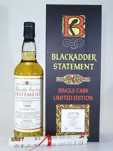 Bunnahabhain 26 y.o. Blackadder Raw Cask Statement No. 25