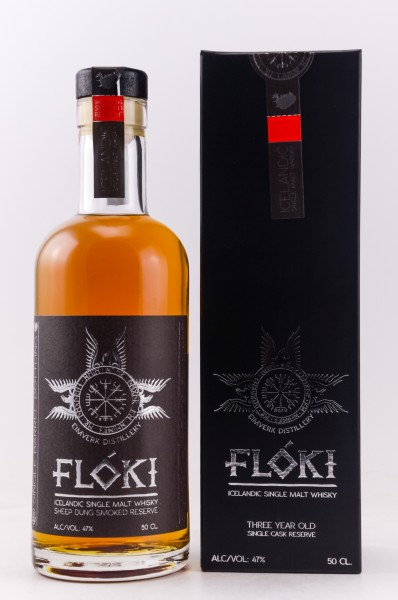 Floki Single Malt Whisky - Sheep Dung Smoked Reserve Barrel 1