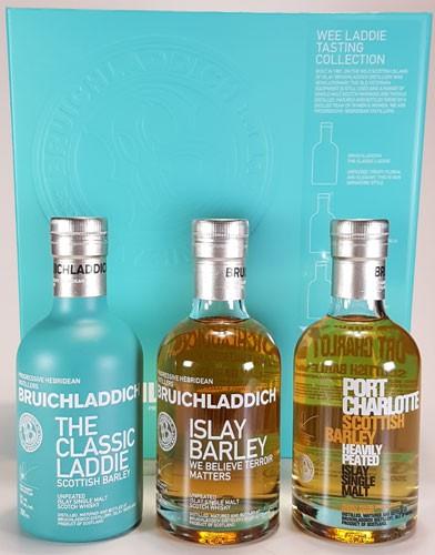 Bruichladdich Wee Tasting Set 3x 0,2 Liter