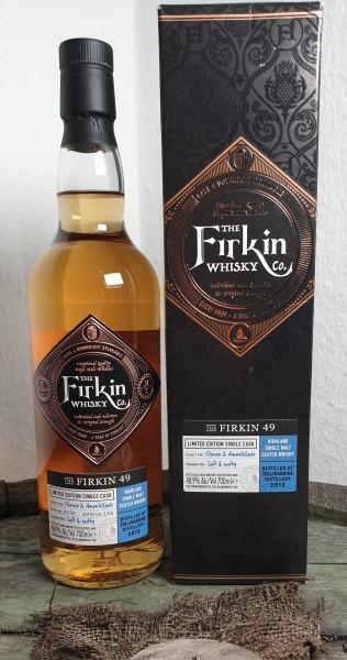 The Firkin49, Tullibardine 2012 Oloroso & Amantilado