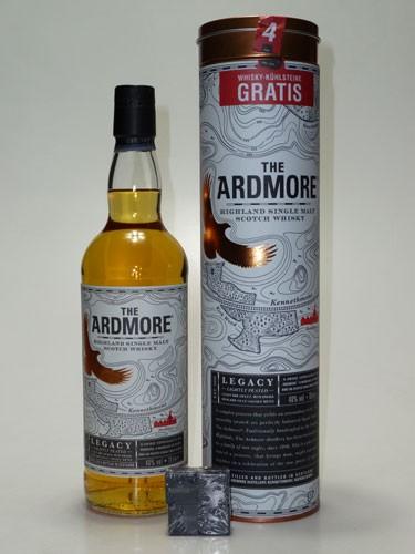 Ardmore Legacy mit 4 Whiskykühlsteinen