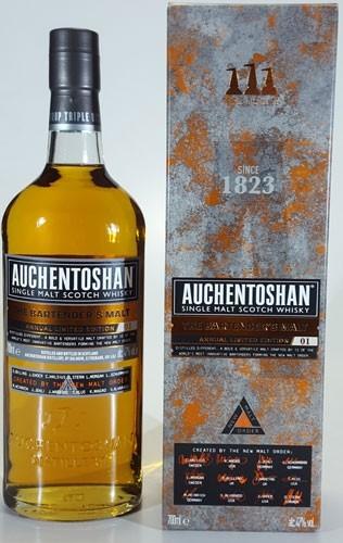 Auchentoshan Bartenders Malt Annual limited Ed. No. 01