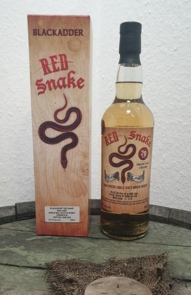 Red Snake Redneck 86 Peated 20ppm Blackadder Raw Cask