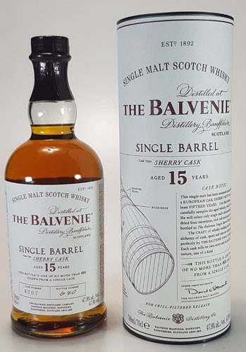 Balvenie 15 y.o. Single Barrel Sherry Cask