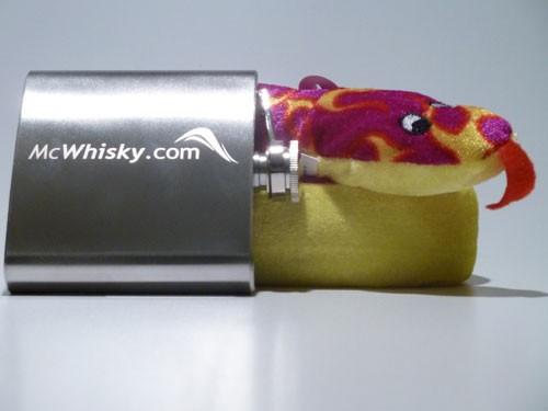 Whiskyflachmann und Whiskyschlange