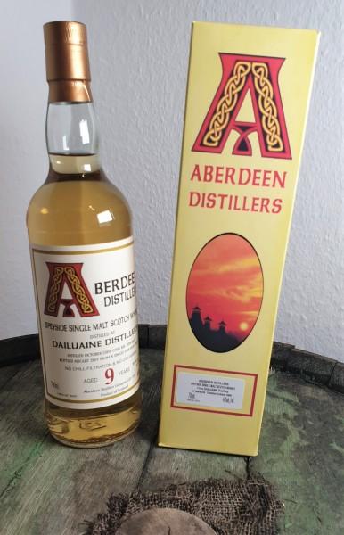 Dailuaine 9 y.o. Aberdeen Distillers