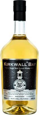 Kirkwall Bay Orkney Single Malt Whisky