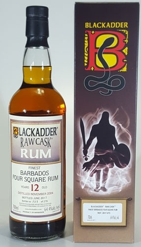 Rum Barbados 4 Square Second Edition Blackadder Raw Cask