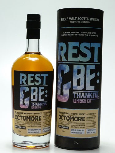 """Octomore Rivesaltes Finish """"Rest and be thankful"""""""