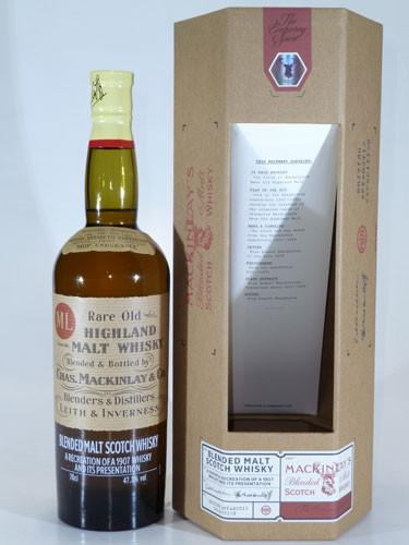 Shackleton's Mackinley Rare Old Highland Malt Whisky