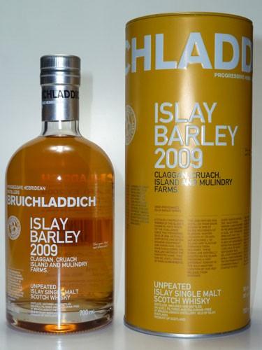Bruichladdich Islay Barley 2009 Claggan, Cruach, Island & Mulindry Farm