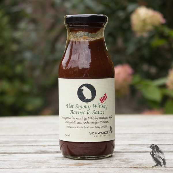 Hot Smoky Whisky Barbecue Sauce