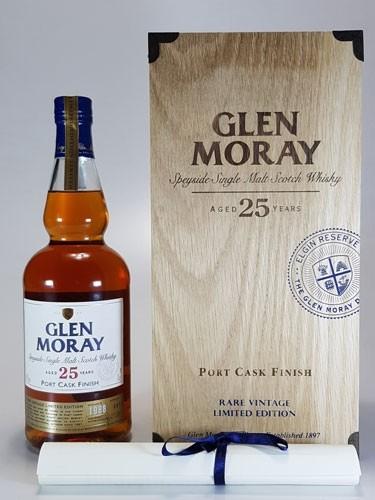 Glen Moray 25 y.o. Port Cask Finish