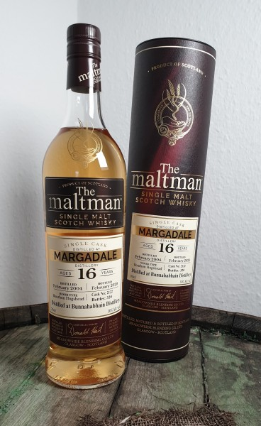 The Maltman 16 y.o. Margadale (Bunnahabhain)