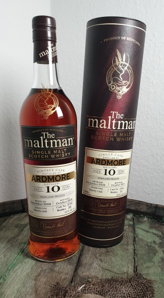 The Maltman Ardmore 10 y.o. CS
