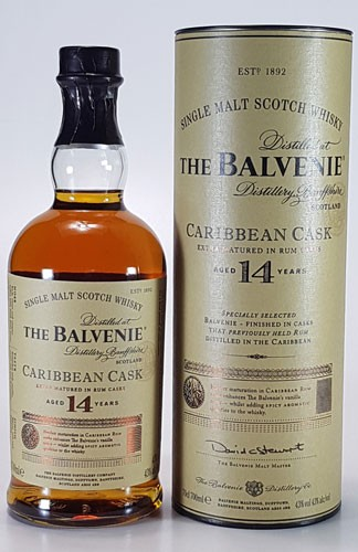Balvenie 14 y.o. Caribbean Cask