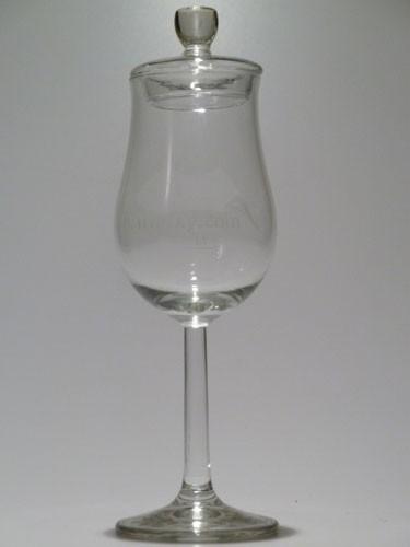 """Nosingglas Bugatti """"McWhisky.com"""" + Glasdeckel"""